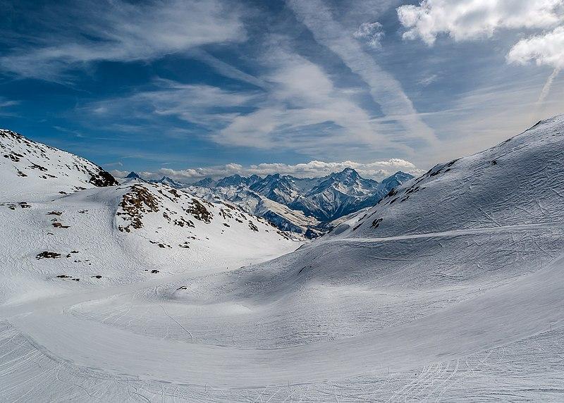 Alpe d'Huez glacier de Sarenne